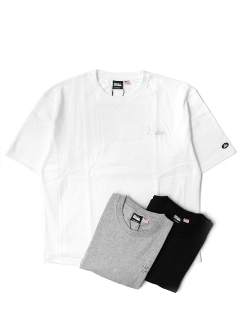 【60%OFF】FIRST DOWN LOGO S/S Heavy Weight T-shirt