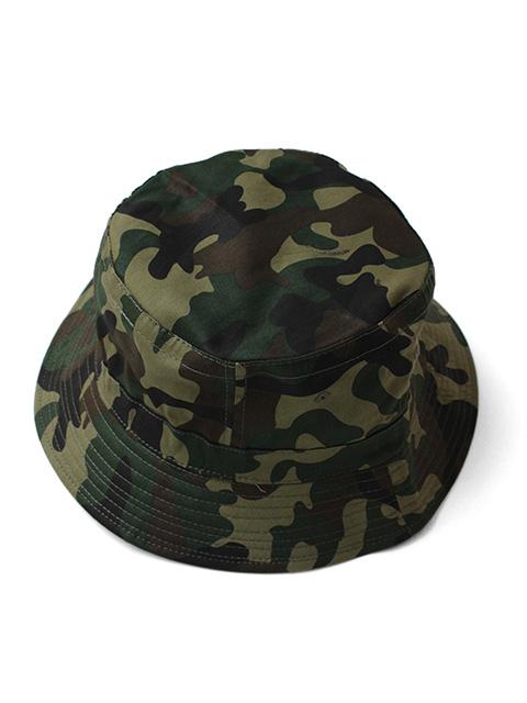 【40%OFF】COBRA CAPS Bucket Hat Camo -Military Green-