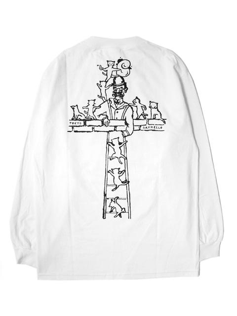 SAYHELLO Cross Unit L/S Tee