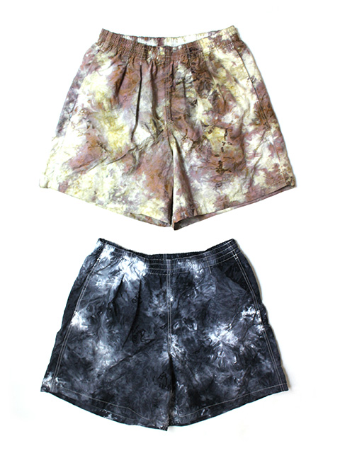 BURLAP OUTFITTER TIE DYE TRACK SHORTS