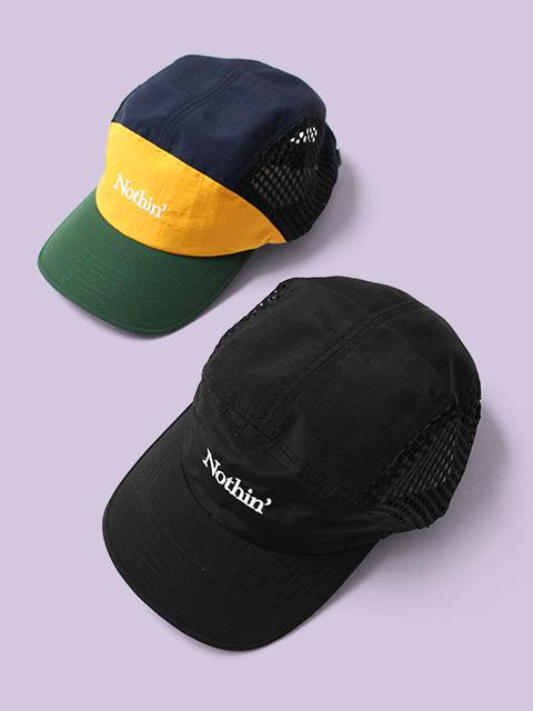 NOTHIN'SPECIAL SIDE MESH NYLON 5-PANEL CAP
