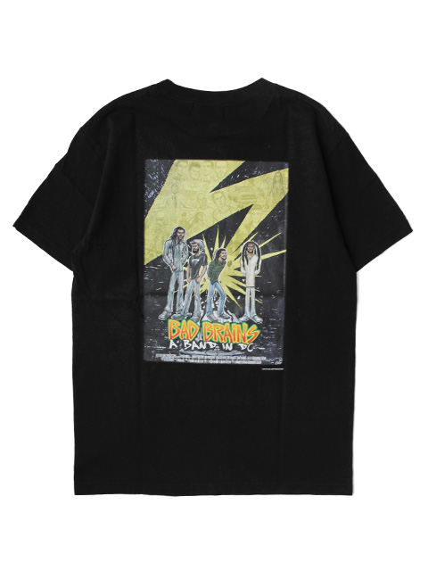 Hombre Nino S/S PRINT TEE -A BAD IN DC FLYER-