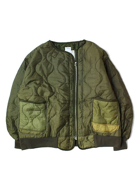 oddment Quilting MA-1 -Olive-