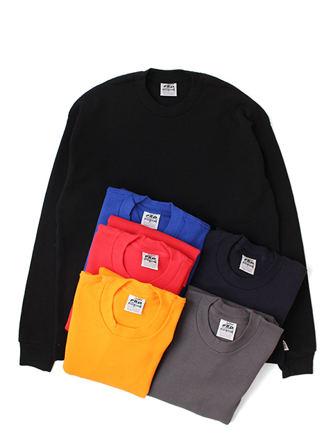 <サイズリメイク>PRO5 THERMAL KNIT TOPS -color-