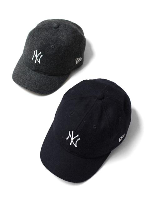 NEW ERA 9TWENTY Short Visor New York Yankees Melton Mini Logo