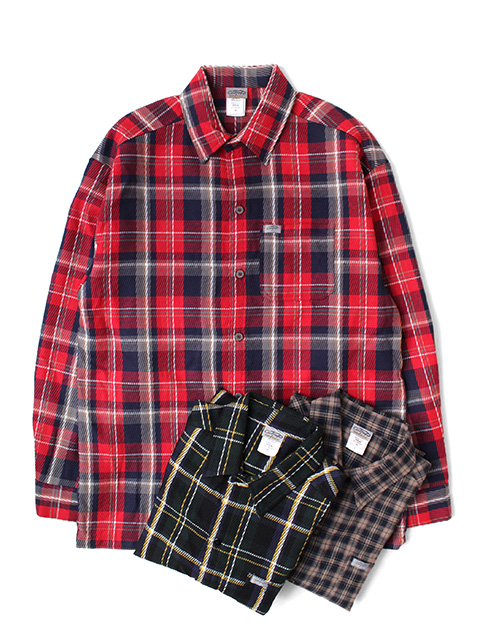 Cal Top FLANNEL L/S SHIRTS