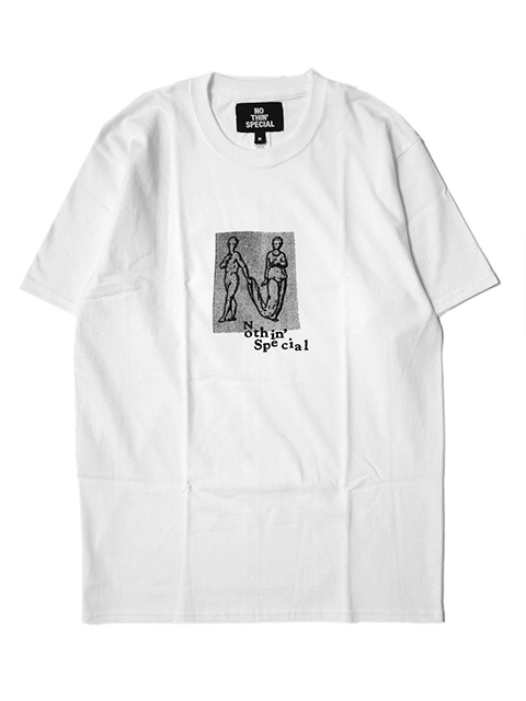 【30%OFF】NOTHIN'SPECIAL HUMAN LETTER TEE