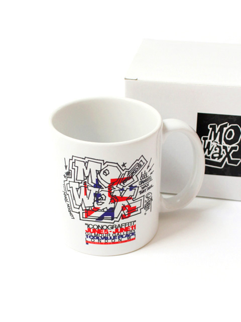 【30%OFF】museum neu Mo'Wax Haze Logo Mug