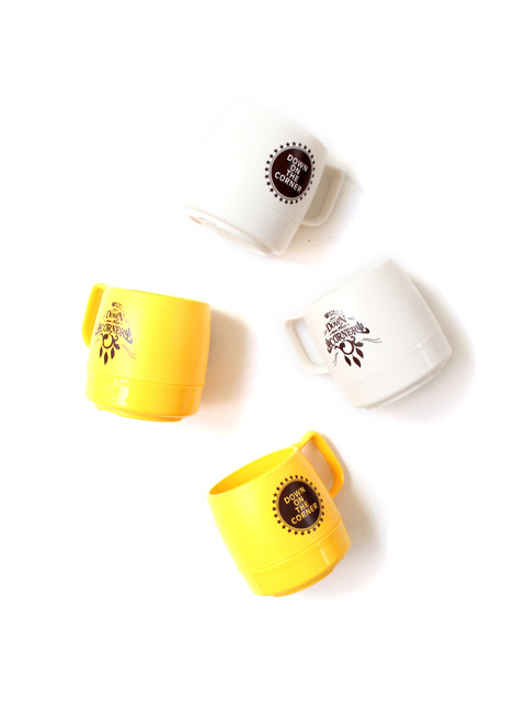 "【50%OFF】DOWN ON THE CORNER DINEX 8oz MUG ""CACTUS/STAR&CIRCLE"""