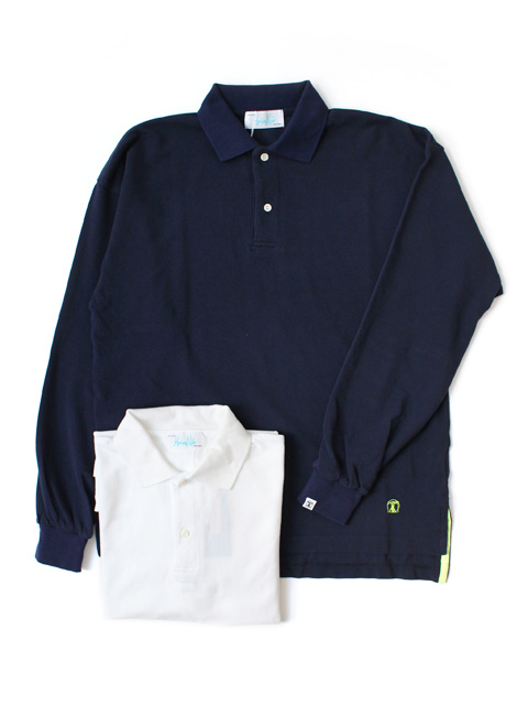 【50%OFF】Hombre Nino LS BIG POLO SHIRT