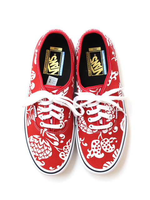 【40%OFF】〈50周年モデル〉VANS Authentic Pro '66