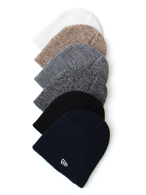 NEW ERA SOFT BEANIE -SOLID/HEATHER-