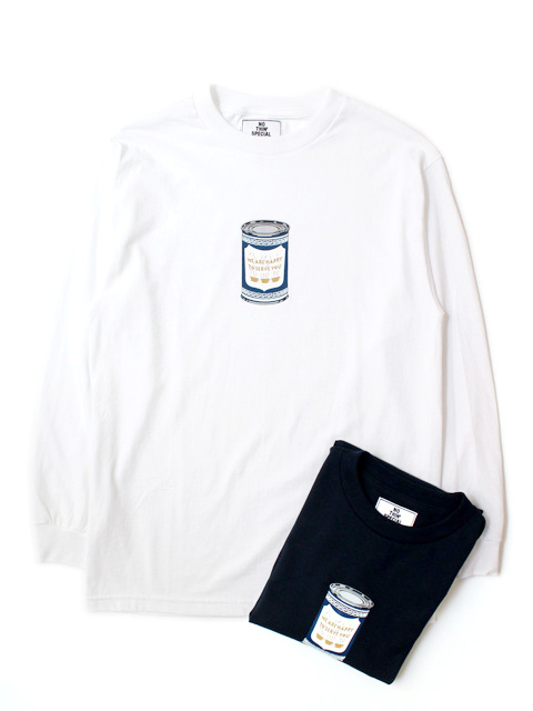 【50%OFF】NOTHIN'SPECIAL $ COFFEE CAN LONG SLEEVE