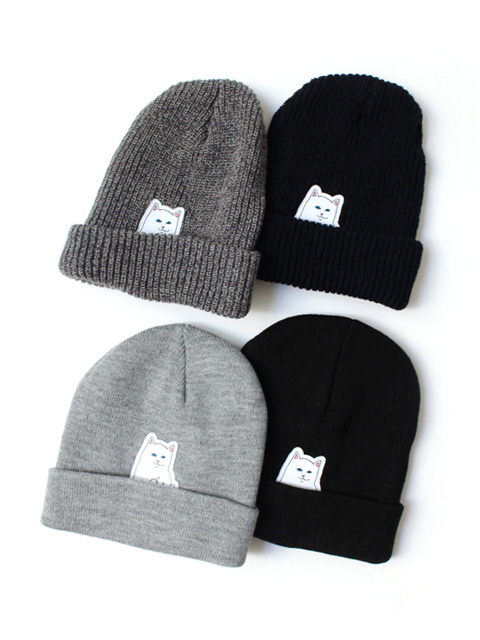 【40%OFF】RIPNDIP Lord Nermal Beanie