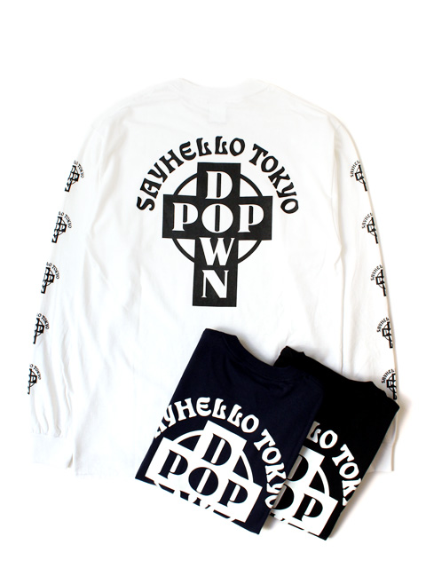 SAYHELLO Pop Down L/S Tee