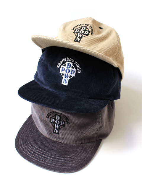 【40%OFF】SAYHELLO Pop Down Cord-Cap