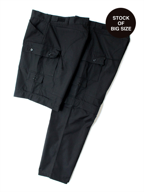 Hombre Nino × CORONA EXPLORER 2WAY PANTS -BLACK-