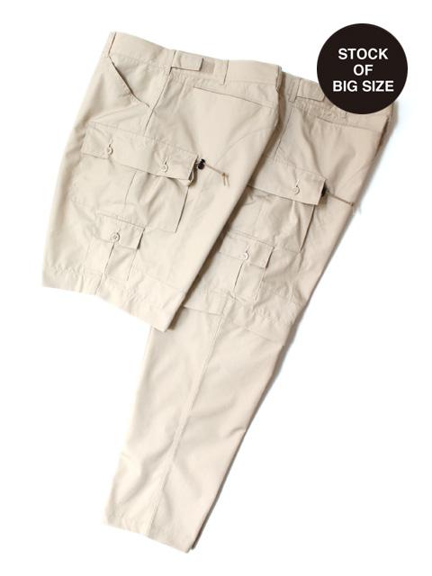 Hombre Nino × CORONA EXPLORER 2WAY PANTS -BEIGE-