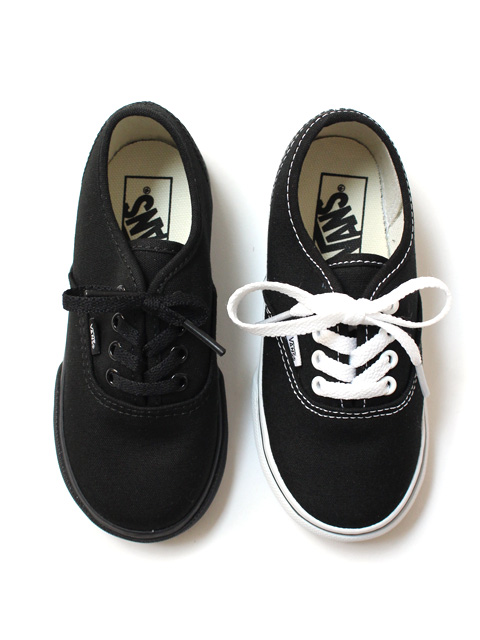 VANS Toddler Authentic Canvas -BLACK-