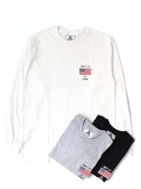 【50%OFF】NOTHIN'SPECIAL DON'T LET US DOWN LONG SLEEVE