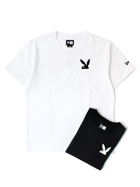 【40%OFF】NEW ERA Cotton Pocket Tee PLAYBOY
