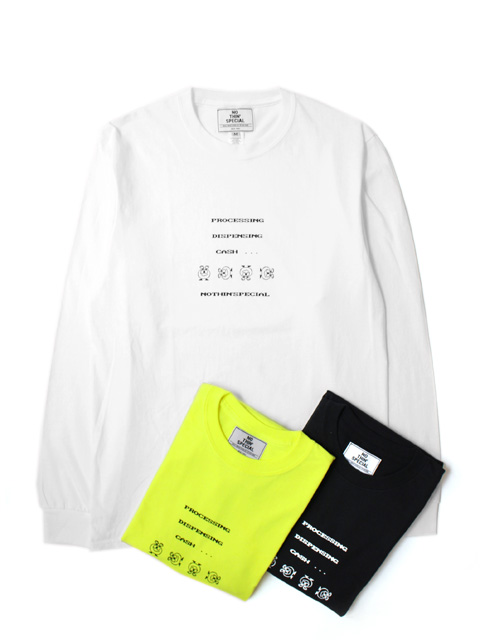 NOTHIN'SPECIAL ATM MACHINE LONG SLEEVE