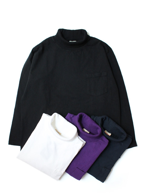 GOODWEAR L/S TURTLE NECK POCKET TEE