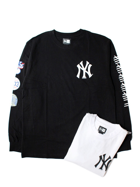 【70%OFF】NEW ERA COTTON L/S TEE NEW YORK YANKEES CHAMPS