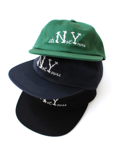 【40%OFF】NOTHIN'SPECIAL NOT YOURS 6-PANEL CAP