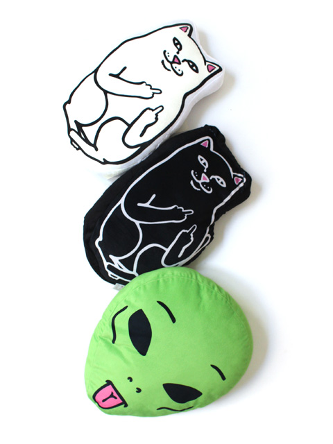 RIPNDIP Lord Nermal / Jermal / We Out Here Pillow