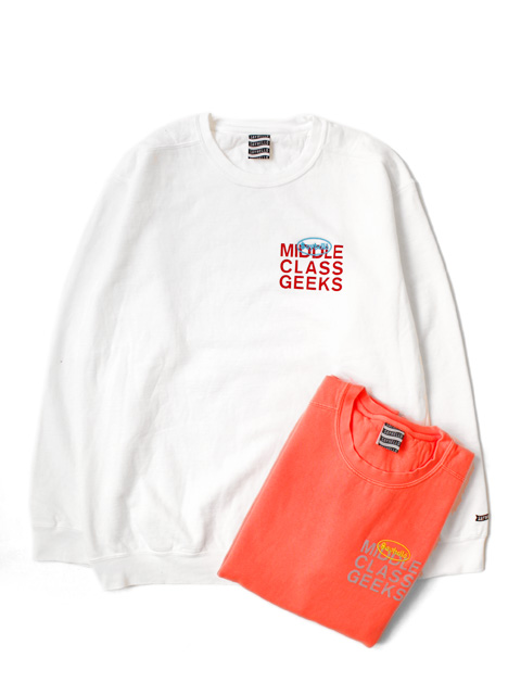 【50%OFF】SAYHELLO Geeks Crew Sweat