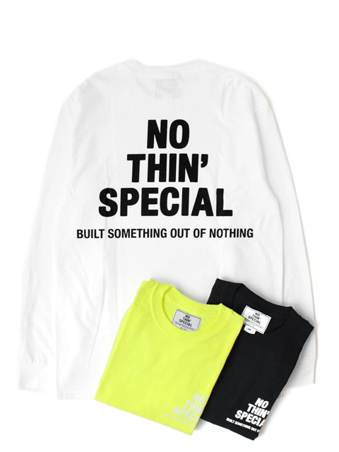 NOTHIN'SPECIAL LOGO LONG SLEEVE