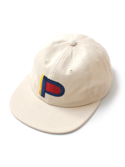 by Parra 6 panel hat colored P