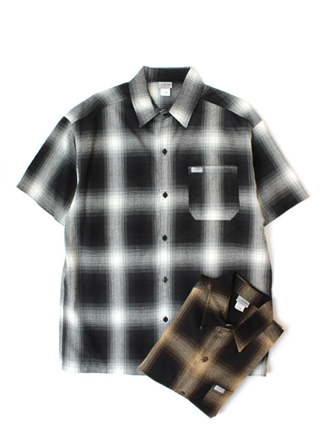 Cal Top OMBRE CHECK S/S SHIRTS