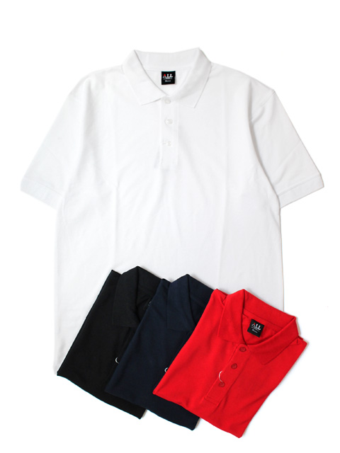 【20%OFF】ALL POLO SOLID S/S POLO SHIRTS