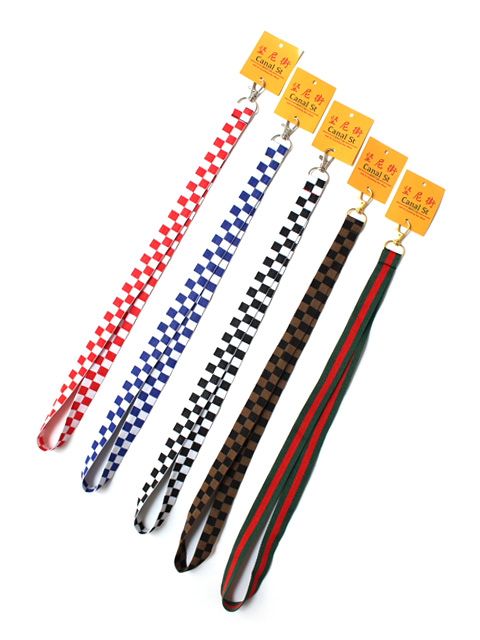 Canal St (8007136)  WOVEN LANYARD