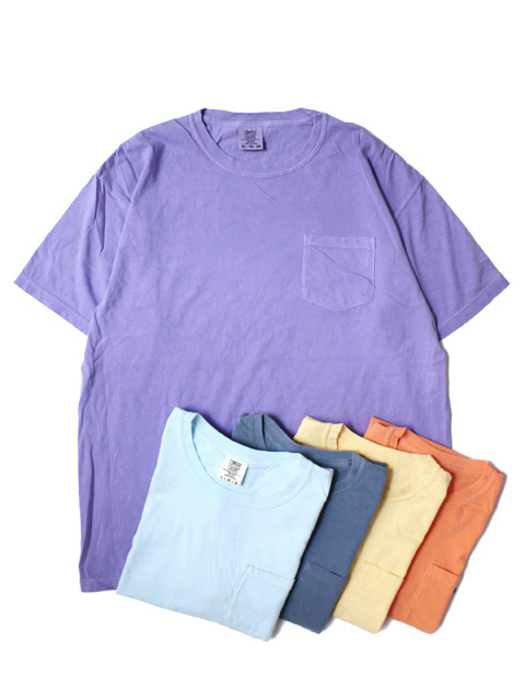 COMFORT COLORS 6.1oz Pocket SS Tee(半袖)