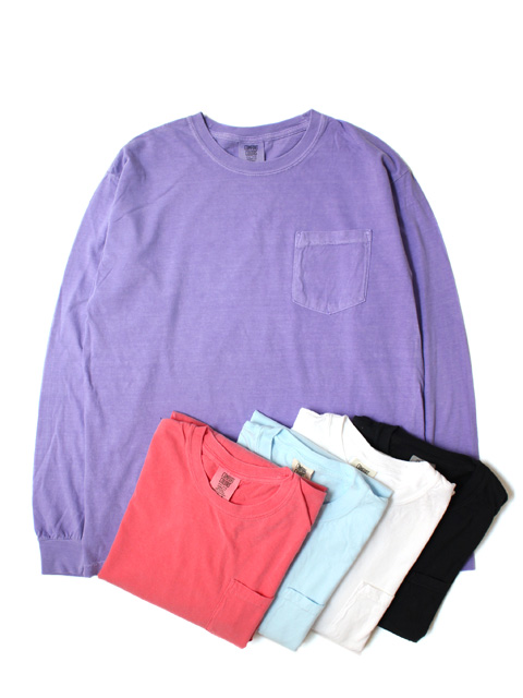 COMFORT COLORS 6.1oz Pocket LS Tee (長袖)
