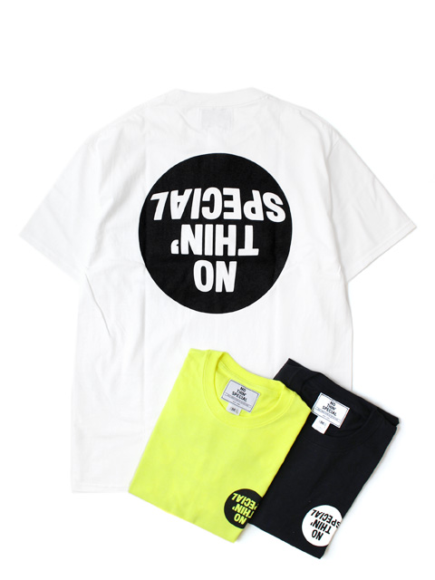 【30%OFF】NOTHIN'SPECIAL FISHEYE LOGO TEE