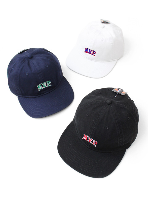 【40%OFF】M.V.P. COLLEGE LOGO 6PANEL CAP