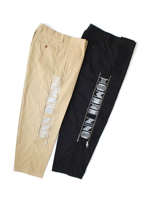 【40%OFF】Hombre Nino ZIP PANTS