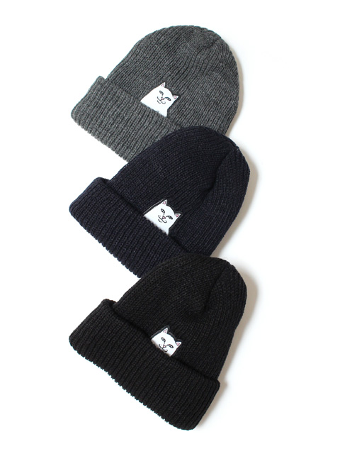 【30%OFF】RIPNDIP Lord Nermal Rib Beanie