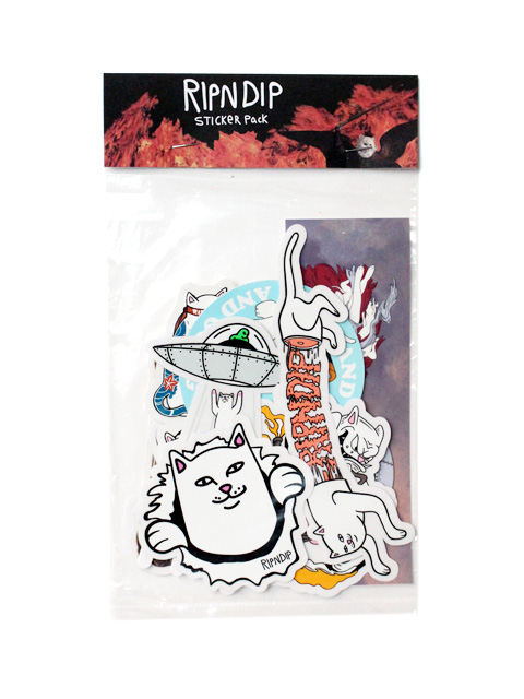 【20%OFF】RIPNDIP Sticker Pack