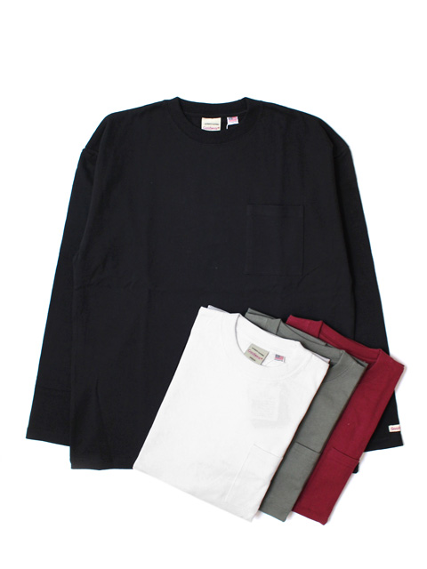 Goodwear L/S Pocket Tee -BIG-(長袖/リブ無)
