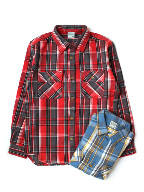 【40%OFF】M.V.P. BIG MAN NEL SHIRT