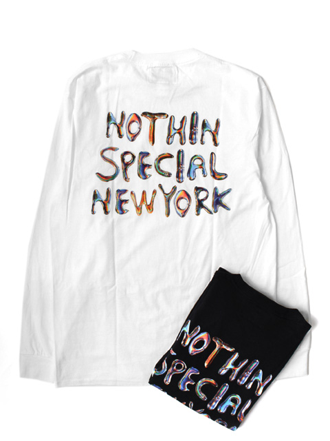 【50%OFF】NOTHIN'SPECIAL LIQUID POCKET LONG SLEEVE