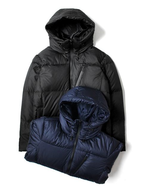 M.V.P. x AVIREX HOODED DOWN JACKET