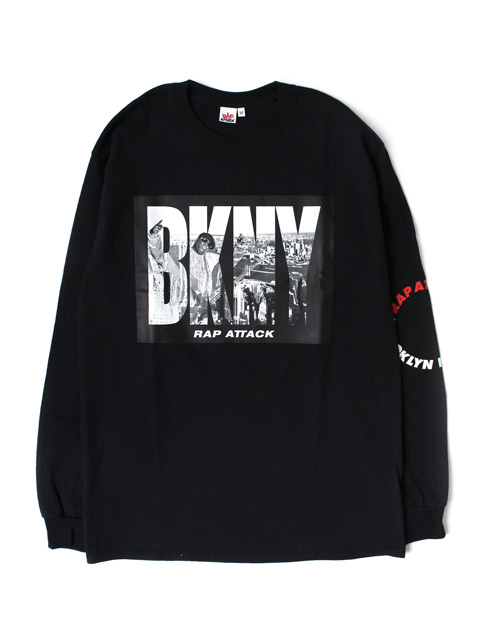 "【40%OFF】Rap Attack ""BKNY"" Long Sleeve Tee"