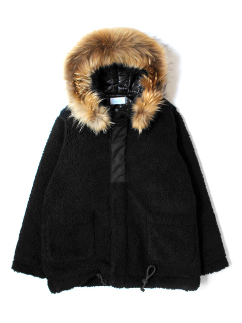 【40%OFF】Hombre Nino × CORONA PILE LINER PARKA With FUR SET
