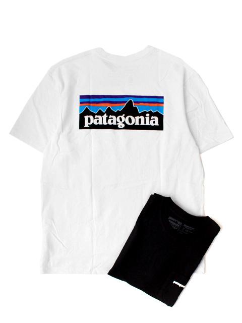 Patagonia MS P-6 LOGO POCKET RESPONSIBILI TEE